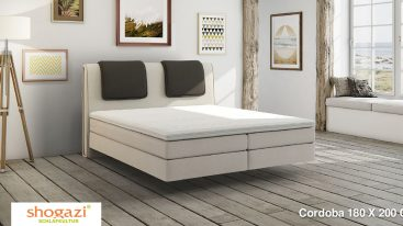 Boxspringbett Cordoba 160×200 cm