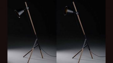 SALE - Stehlampe Insert - SALE
