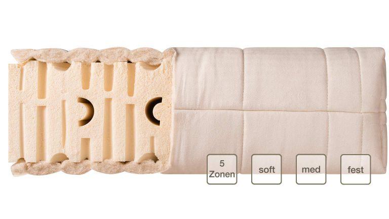 Latexmatratze Premium Comfort