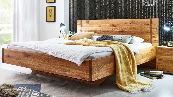 Massivholzbett CLASSIFY Wildeiche 160×200 cm