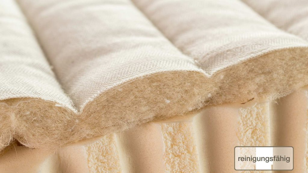 Matratzenbezug Drell Bio Baumwolle