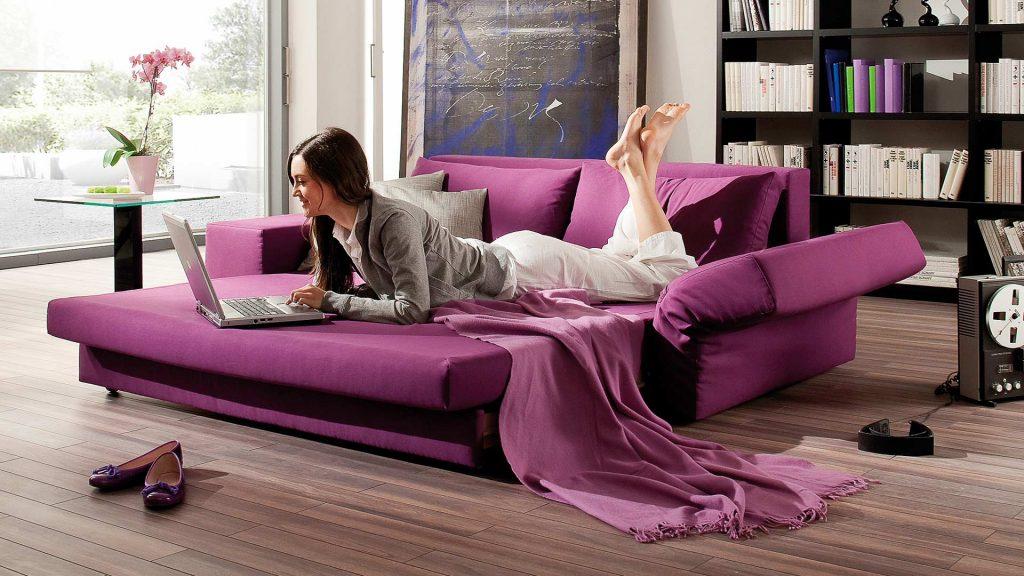 Schlafsofa Confetto mit Relax Funktion