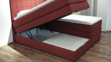 Boxspringbett Classik ST Plus mit Bettkasten 180×200 cm