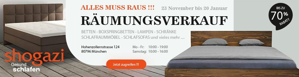 shogazi Räumungsverkauf München
