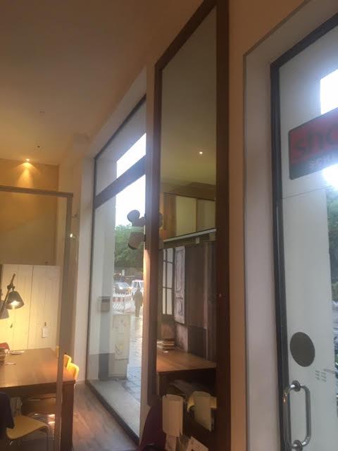 Spiegel 125 x 310 cm