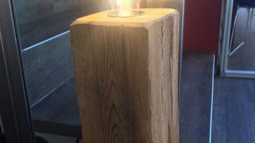 Holzlampe UNIKAT