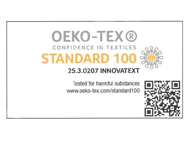 Öko-Tex Zertifikat